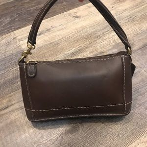 Vintage Coach leather mini purse